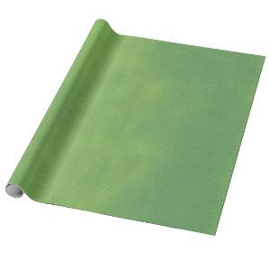 Grungy Styled Smudge Green Wrapping Paper