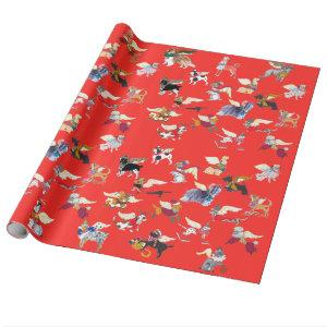 Gulliver's Angels Wrap it Up! Wrapping Paper