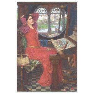 HALF SICK OF SHADOWS - LADY OF SHALOTT PAINTING TISSUE PAPER