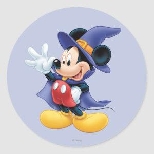 Halloween Mickey Mouse 2 Classic Round Sticker