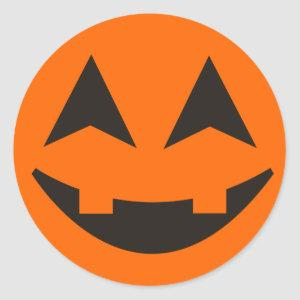 Halloween Pumpkin Face Sticker 13