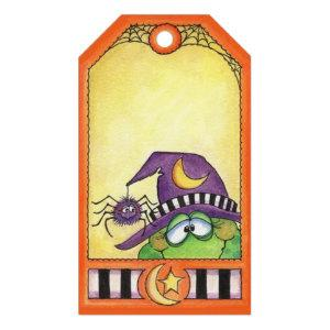 Halloween Toad Gift Tags