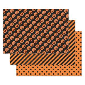 Halloween Wrapping Paper Sheets