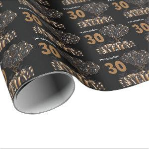 Happy 30th Birthday Wrapping Paper