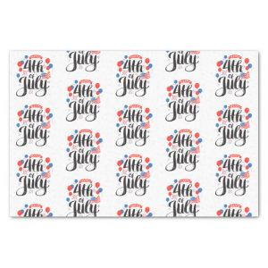 Happy 4th of July Tissue Paper