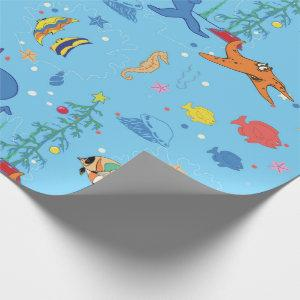Happy Christmas Shark Wrapping Paper