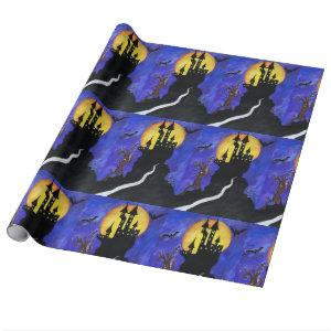 Happy Halloween Glossy Wrapping Paper
