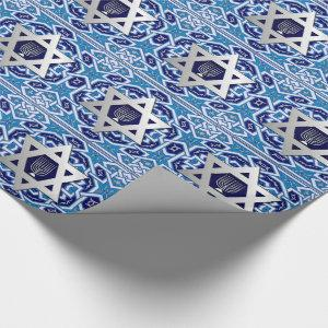 Happy Hanukkah / Chanukah Gift Wrapping Paper