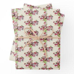 Happy Holidays | Mickey & Friends Christmas Gifts Wrapping Paper Sheets