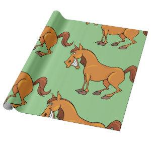 Happy Horse Wrapping Paper