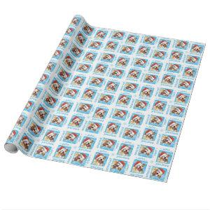 Happy Howliday APBT Wrapping Paper
