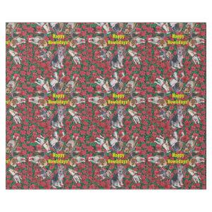 Happy Howlidays Beagle Christmas Wrapping Paper
