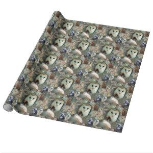Happy Owls Wrapping Paper