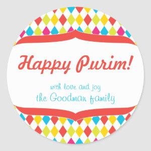 Happy Purim Gift Tag
