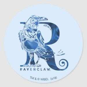 Harry Potter | Aguamenti RAVENCLAW™ Graphic Classic Round Sticker