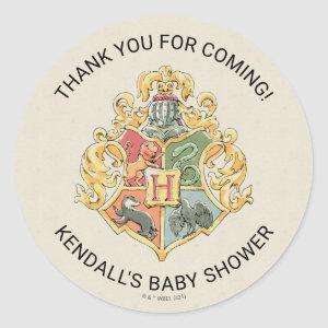 Harry Potter Baby Shower Thank You Classic Round Sticker