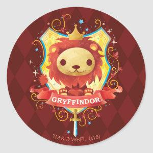 Harry Potter | Charming GRYFFINDOR™ Crest Classic Round Sticker