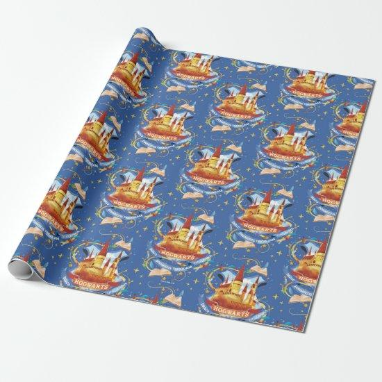 Harry Potter | Charming HOGWARTS™ Castle Wrapping Paper