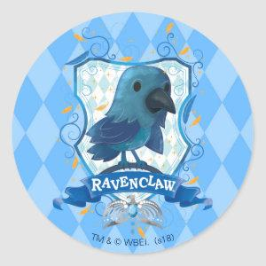 Harry Potter | Charming RAVENCLAW™ Crest Classic Round Sticker