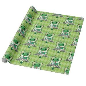 Harry Potter | Charming SLYTHERIN™ Crest Wrapping Paper