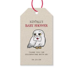 Harry Potter | Hedwig Baby Shower Thank You Gift Tags