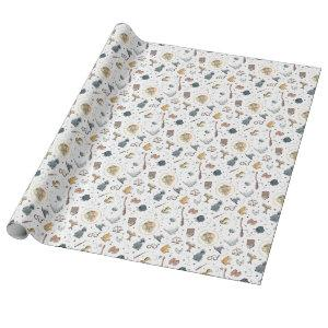 Harry Potter Icons Pattern - Baby Shower Wrapping Paper