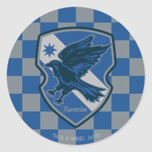 Harry Potter | Ravenclaw House Pride Crest Classic Round Sticker