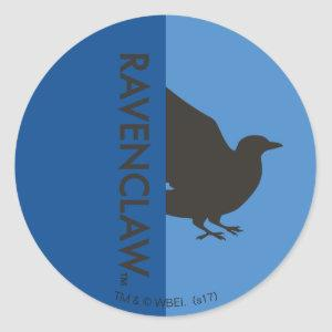 Harry Potter | Ravenclaw House Pride Graphic Classic Round Sticker
