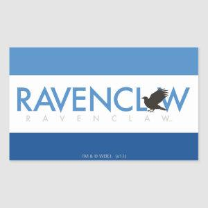 Harry Potter | Ravenclaw House Pride Logo Rectangular Sticker
