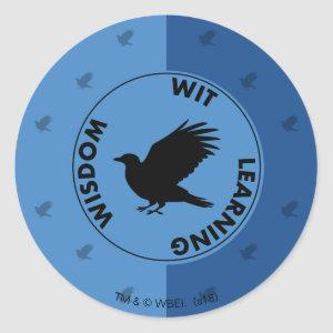 Harry Potter | RAVENCLAW™ House Traits Graphic Classic Round Sticker