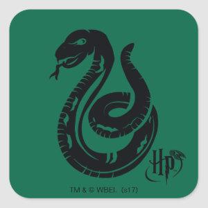 Harry Potter | Slytherin Snake Icon Square Sticker