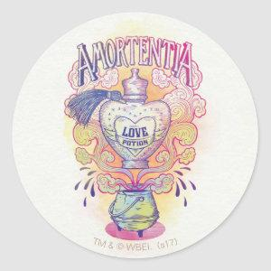 Harry Potter Spell | Amortentia Love Potion Bottle Classic Round Sticker