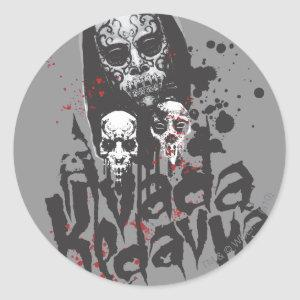 Harry Potter Spell | Death Eater Avada Kedavra Classic Round Sticker
