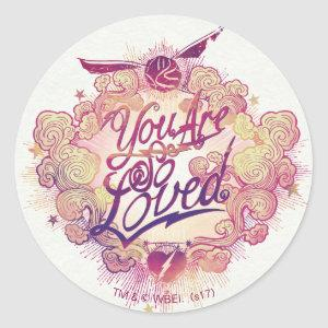 Harry Potter | You Are So Loved Classic Round Sticker