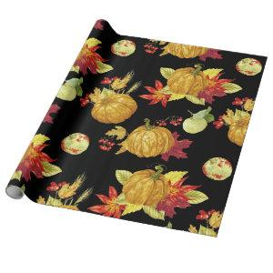 Harvest season for Thanksgiving and any holiday Wrapping Paper