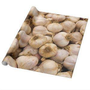 Heads of Garlic Wrapping Paper