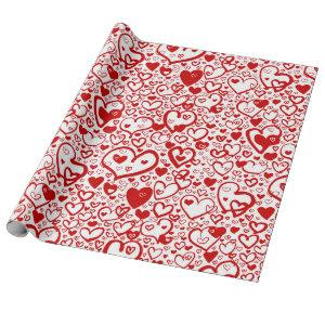 Hearts Desire Wrapping Paper
