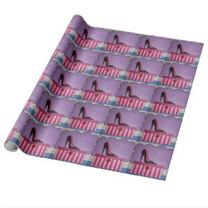 Heels Wrapping Paper