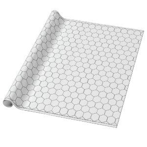 Hex Gaming Paper Roll  - 1 Inch Hexagons (approx.)
