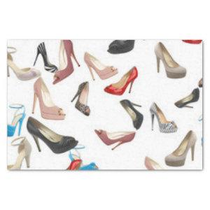High Heels Shoes Tissue Paper