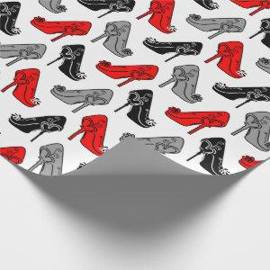 High Heels Wrapping Paper