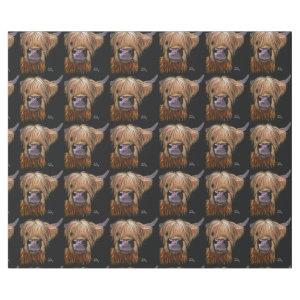 Highland Cow 'Henry' Wrapping Paper