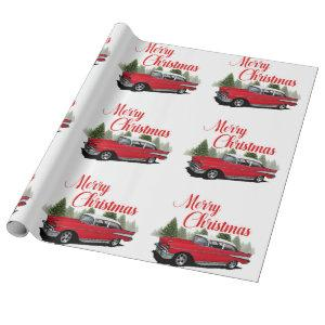 Holiday Bel Air Wrapping Paper