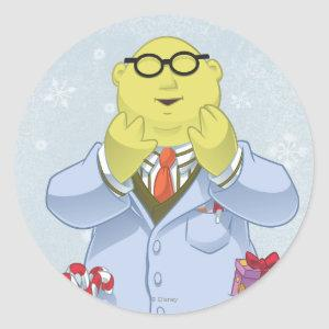 Holiday Dr. Bunsen Honeydew Classic Round Sticker