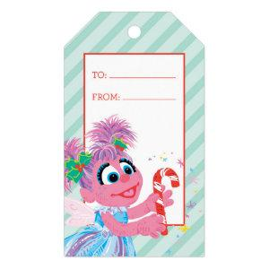 Holiday Scribble Abby Cadabby Gift Tags
