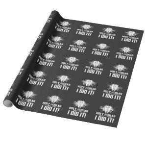 Holy Molar I Did It Dental Hygienist Graduation Wrapping Paper