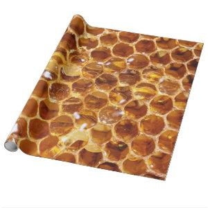 Honeycomb Wrapping Paper