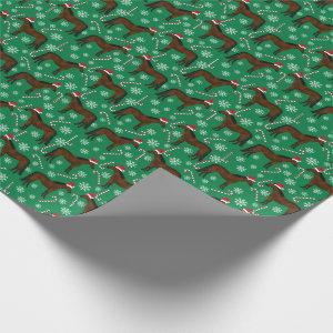 Horse Christmas Wrapping Paper