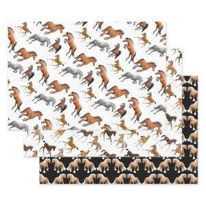 Horse Love Equestrian Wrapping Paper