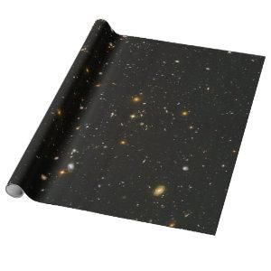 Hubble Space Telescope Field of Galaxies Wrapping Paper